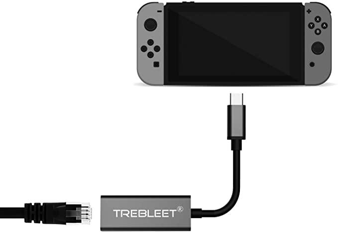 任天堂Switch有線LANアダプター