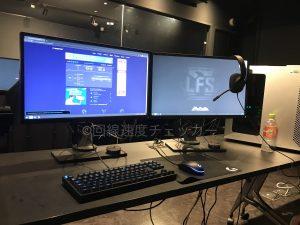 LFS池袋_PC全体_左回線速度_右LFSスクリーン
