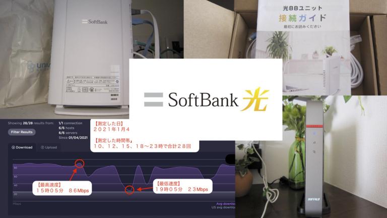 ソフトバンク光のアイキャッチ画像